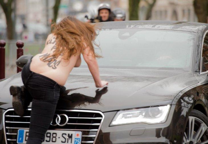 Protesta de activistas de Femen   Denis Charlet   AFP