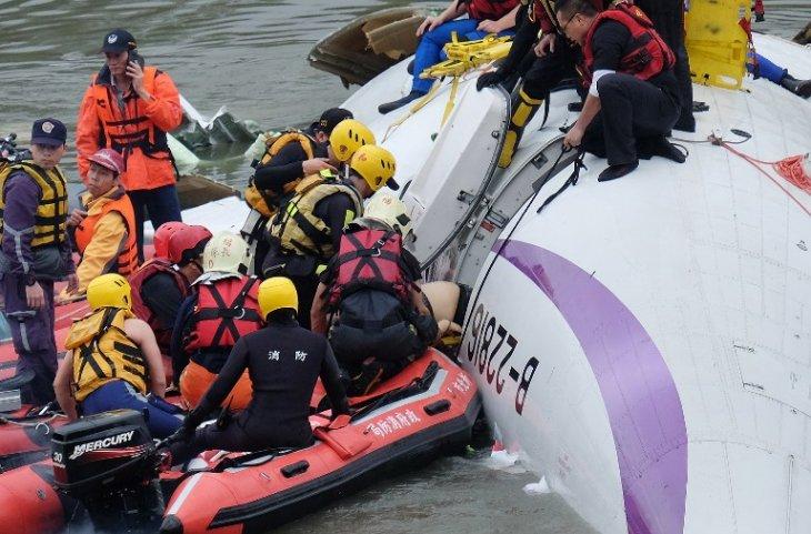 Accidente aéreo en Taiwán | Sam Yeh | AFP