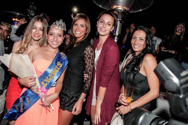Miss Simpatía junto al jurado | Miss Verano Viña 2015