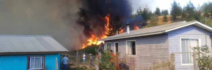 Incendio en Santa Juana | Andrea Parra (RBB)