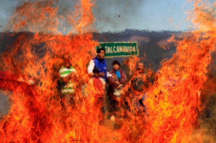 Incendio en Talcamávida | Juan González | Agencia UNO
