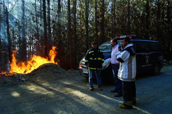 Incendio en Provincia de Arauco | Víctor Carrasco (RBB)