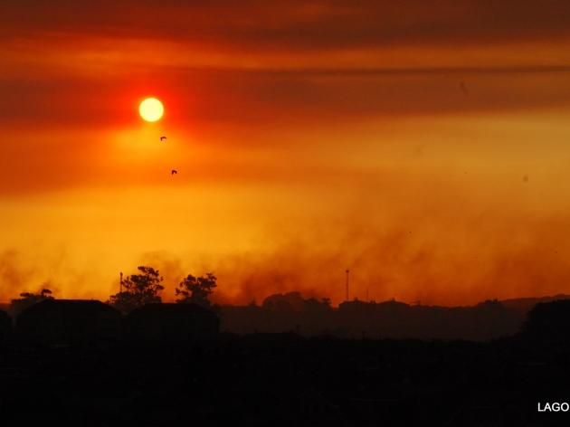 Concepción asolado por el humo de los incendios | Álvaro Lagos