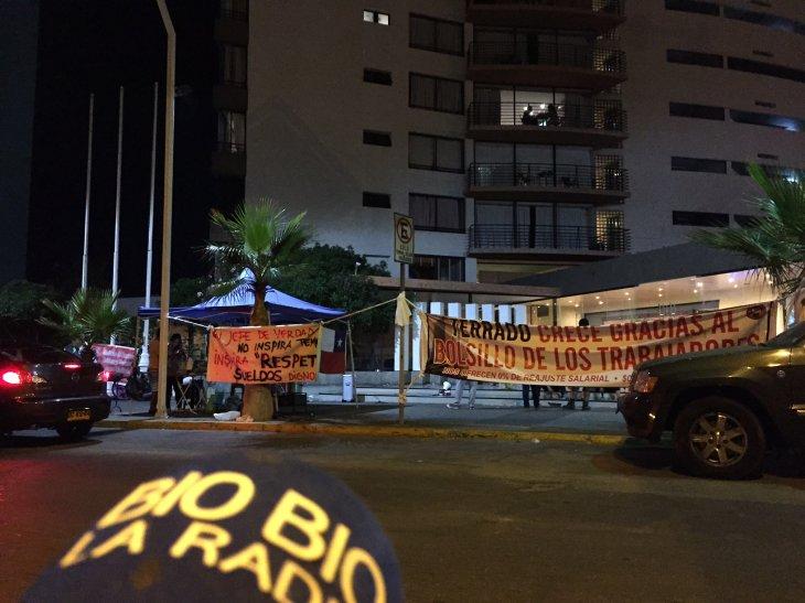 Protesta en Hoteles Terrado   Cristian Nuñez (RBB)