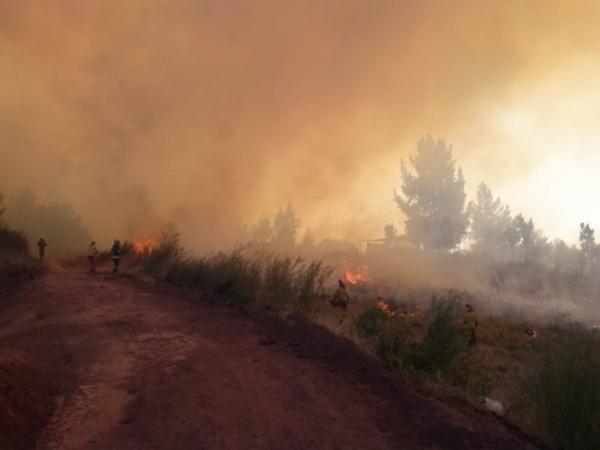Incendio Quebrada Las Ulloa