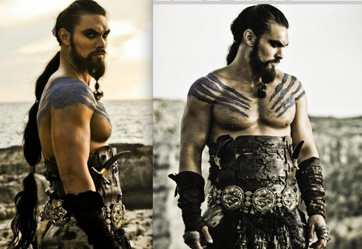 Jason Momoa en Game of Thrones / HBO