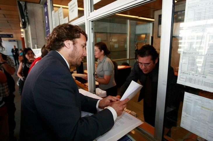 Pablo Terrazas prosecretario UDI |Jorge Fuica |Agencia UNO