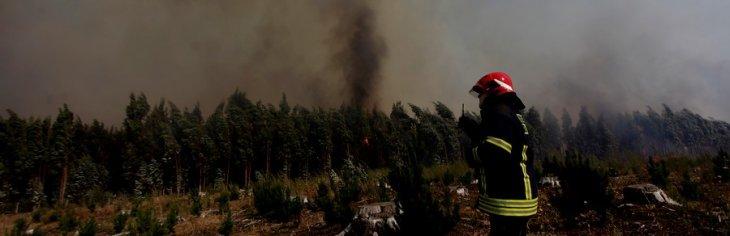 Incendio en San José de Colico | Juan González | Agencia UNO