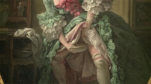 Detalle de La jupe relevée  (1742) | François Boucher