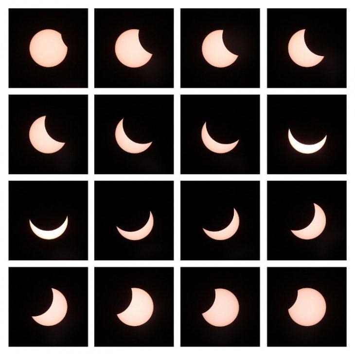 El eclipse al sur de Alemania en 16 fotos / AFP