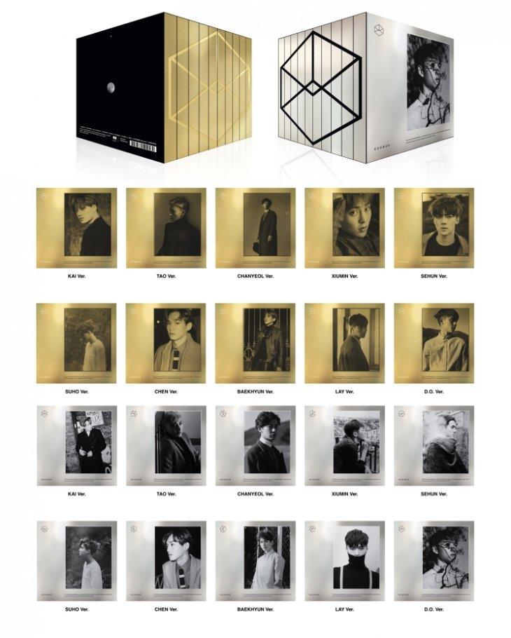El nuevo álbum de EXO y sus 20 portadas coleccionables