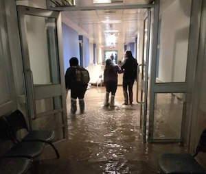 Anegamiento en Hospital de Copiapó |RBB