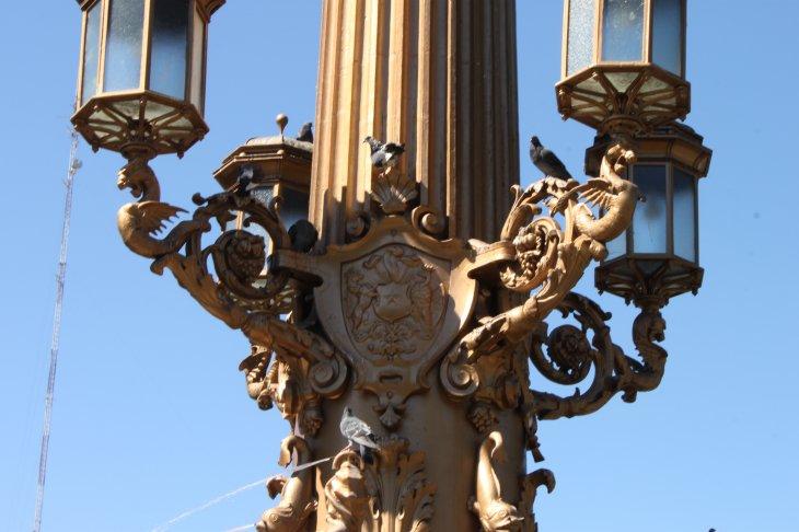 Diosa Ceres de la Plaza Independencia | Erasmo Taurán (BBCL)