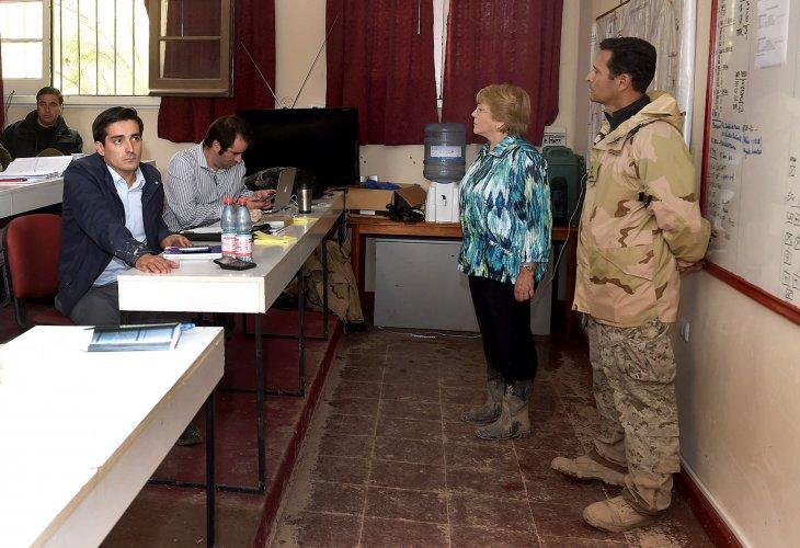 Rodrigo Peñailillo y Michelle Bachelet, Ministerio del Interior