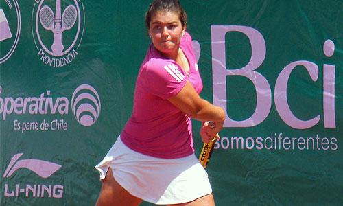 Tenis: Fernanda Brito avanzó a las semifinales del ITF de Ribeirao Preto - Radio Bío-Bío