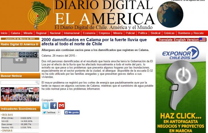 Diario Digital El América