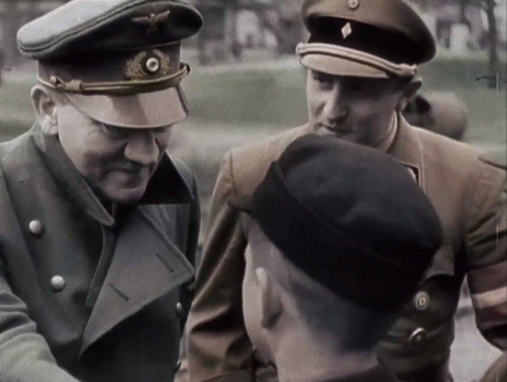 Hitler hacia el fin de la Segunda Guerra Mundial