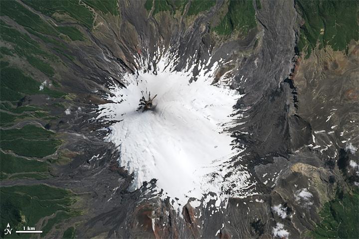 Antes de la erupción | NASA