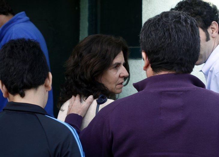 Esposa de Délano | Francisco Castillo | Agencia UNO