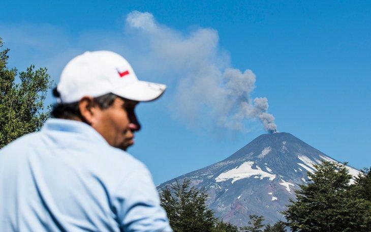 El Villarrica hoy | Francisco Negroni | Agencia Uno