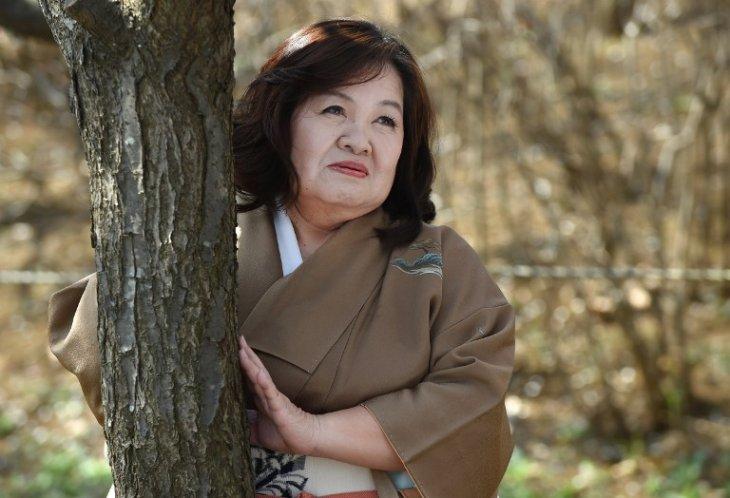 La actriz Yasue Tomita | Toru Yamanaka | AFP