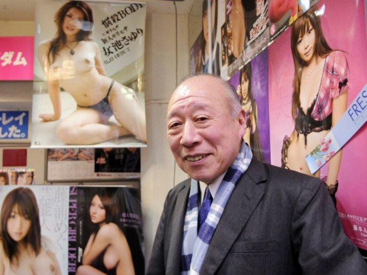 El actor Shigeo Tokuda  | Yoshikazu Tsuno  | AFP