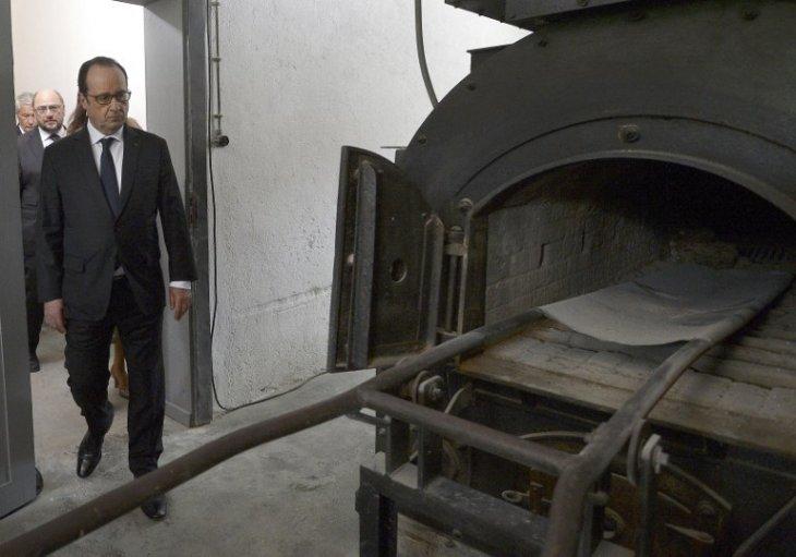 Crematorio de un campo de concentración francés | P. Hertzog | AFP