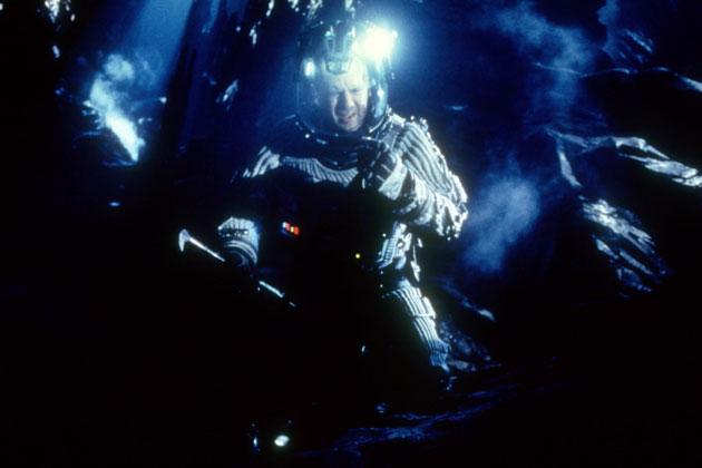 "Bruce Willis en ""Armagedón"""