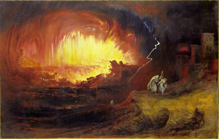 La destrucción de Sodoma y Gomorra | John Martin (cc)