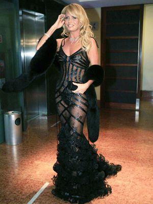 Cecilia Bolocco en Gala Viña 2007