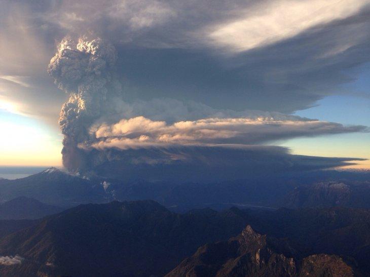 Volcán Calbuco   Carabineros