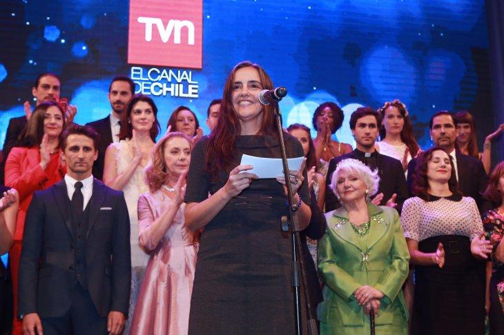 La directora ejecutiva de TVN, Carmen Gloria López
