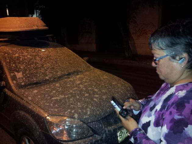 Llueve cemento en Santiago | Gastón Passi Gonzalez