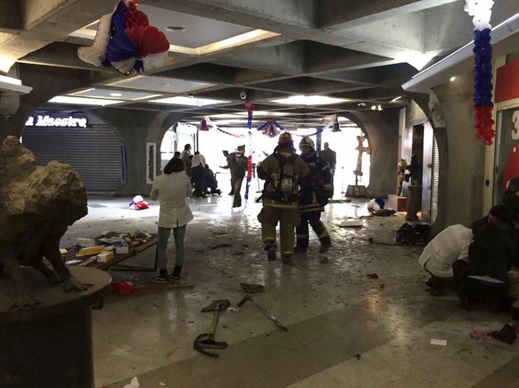 Los daños y algunos heridos que dejó el bombazo en Subcentro | Archivo / Agencia UNO