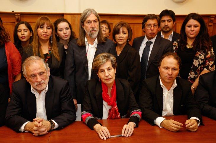 Inscripción de Allende | Francisco Flores | Agencia UNO