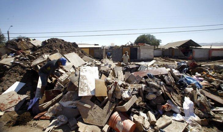 Escombros en Paipote | Cristóbal Escobar | Agencia UNO