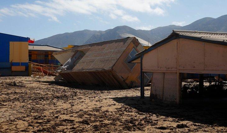 Escuela inundada en Chañaral | Pablo Vera | Agencia UNO