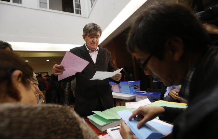 Elecciones PS | Rafael Martinez | Agencia UNO