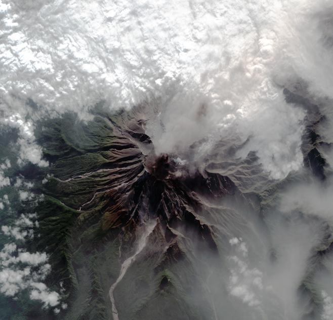 Calbuco después de la erupción |FACh