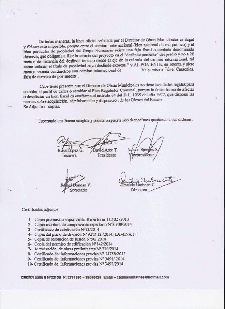 Denuncia Ceuma en Contraloría | Felipe Trejo (RBB)