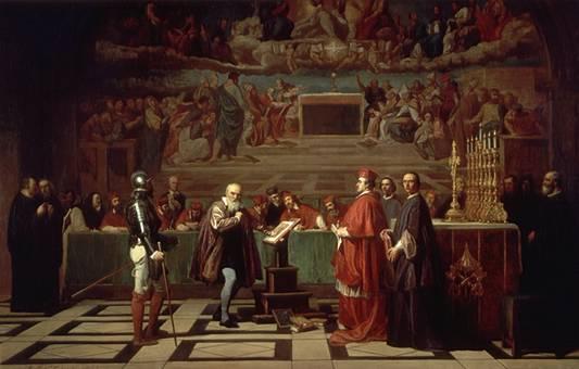 Galileo ante el Santo Oficio | Joseph-Nicolas Robert-Fleury