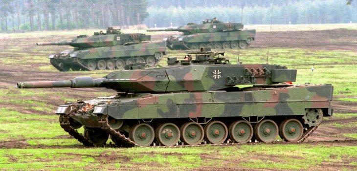 Archivo | Tanque Leopard 2 A5 | Bundeswehr CC