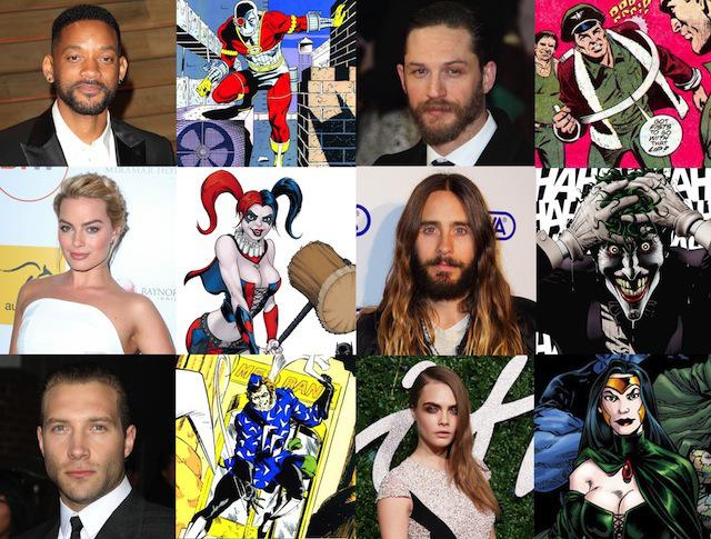 """El elenco confirmado de """"Suicide Squad"""""""