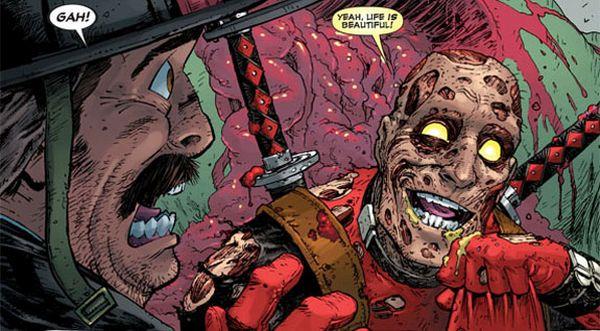 Deadpool sin máscara   Marvel