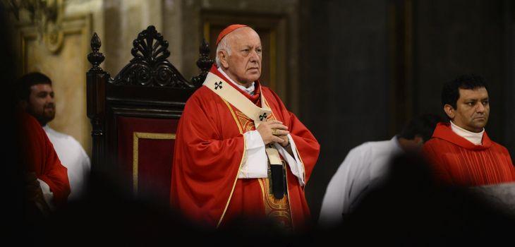 El cardenal Ricardo Ezzati | Matías Delacroix / Agencia UNO