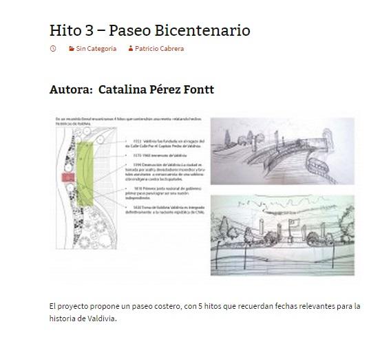 Hito 3 - Paseo Bicentenario