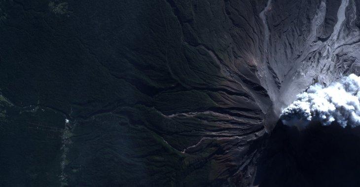 Imagen satelital de la FACH