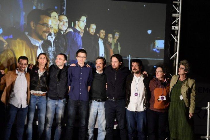 Equipo de Podemos | Pedro Armestre | AFP