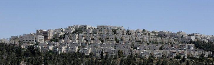 Colonia de Israel en Ramat Shlomo   AFP
