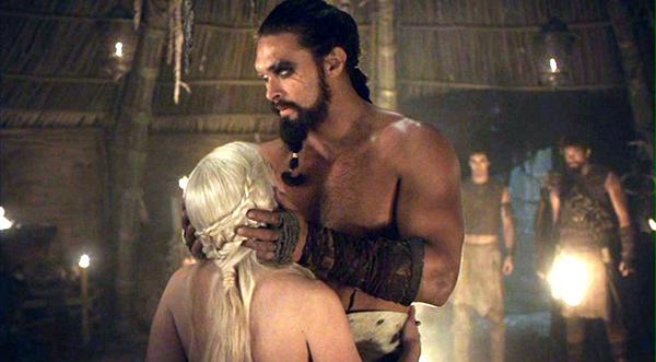 Daenerys y Khal Drogo | HBO